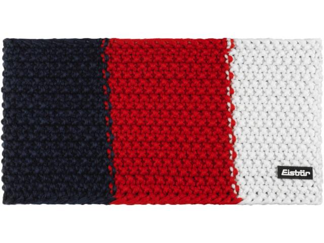 Eisbär Jamie Flag Hoofdband Heren, blauw/rood
